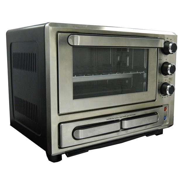 PPO84X3S-IS Avanti 1000-Watt Stainless Steel Pizza Toaster Oven 1