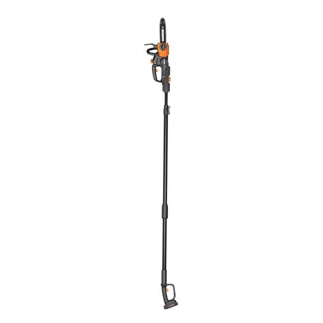 """WG323-U-C Worx 20V 10"""" Auto Tension Electric Pole Chainsaw, Battery & Charger (For Parts)"""