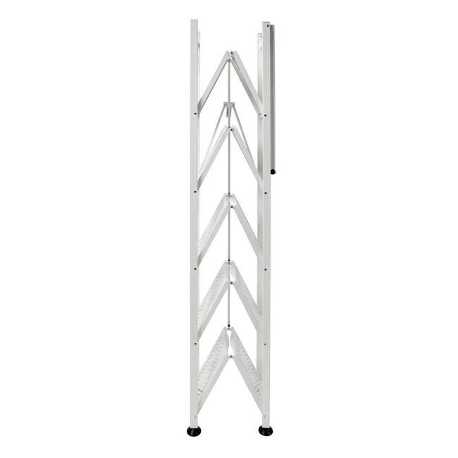 RB-03 Origami 6-Shelf Deco Rack Bookshelf, White 1