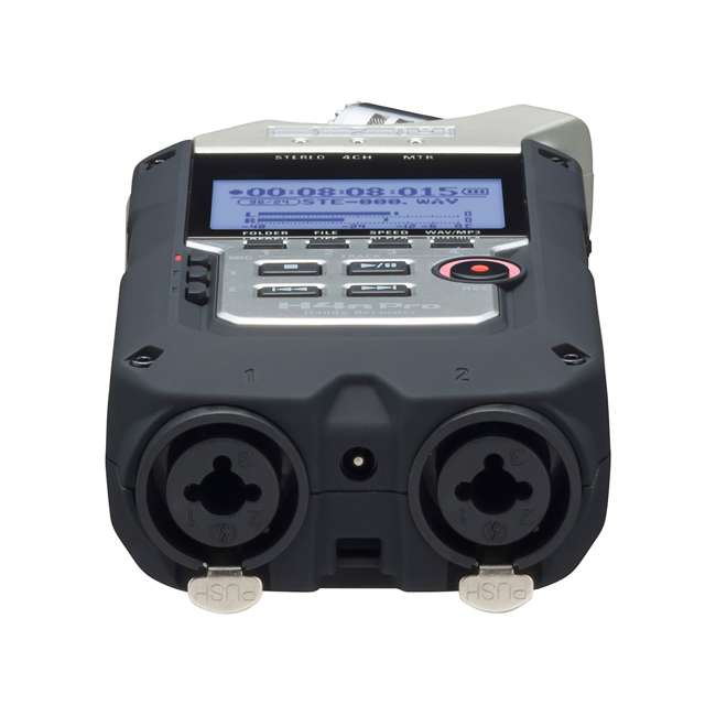 ZH4NPRO + TH02-B + SD4-16GB-SAN Zoom H4n Pro Digital Multitrack Recorder + TASCAM Headphones + Memory Card 5