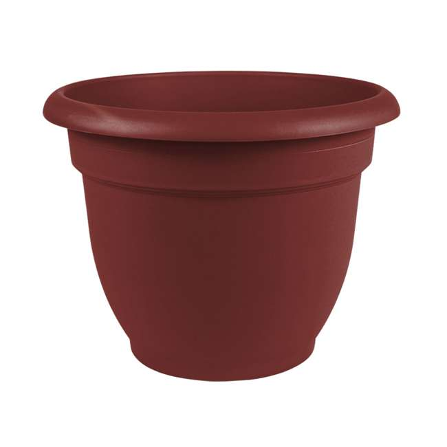 4 x AP0612 Bloem Ariana 6 Inch Self Watering Planter, Union Red (4 Pack) 1