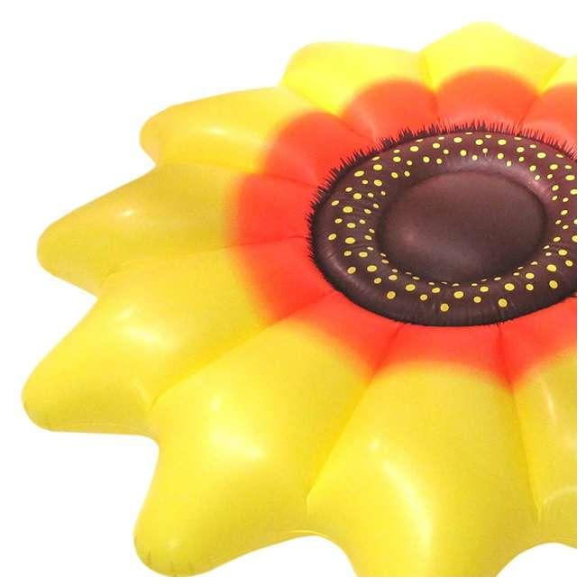 "90543-U-A Swimline Giant Inflatable 72"" Sunflower Island Pool Float (Open Box) (2 Pack) 2"