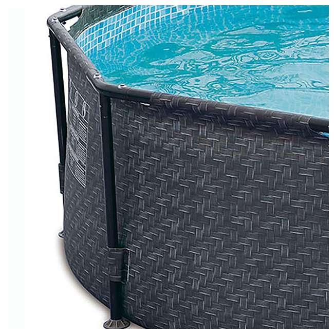 P2001448E167 + K2006 Summer Waves 14 Ft Pool Set w/ Taylor Water Test Kit 6