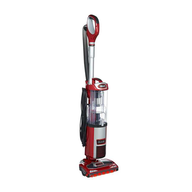 NV200QRD_EGB-RB-U-C Shark DuoClean Ultra Powerful Slim Upright Vacuum, Red (Refurbished) (For Parts)