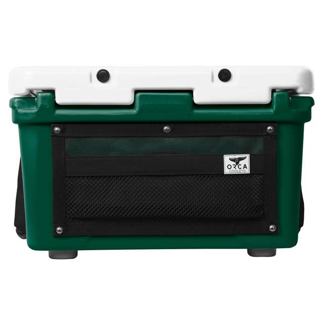 ORCGR/WH026 Orca 26 Quart 24 Can High Performance Roto Molded Insulated Ice Cooler, Green 2