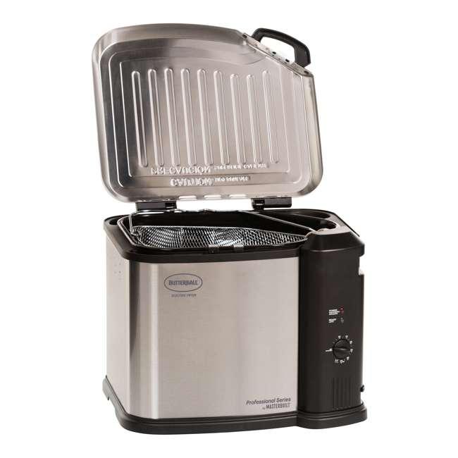 BB-MB23012418-U-B Masterbuilt 20 lb Turkey Fryer Butterball XL 1650W , Stainless Steel (Used) 1