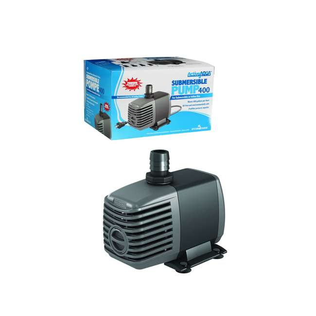 3 x AAPW400 HYDROFARM Active Aqua 400 GPH Submersible Water Pump | AAPW400 (3 Pack) 3