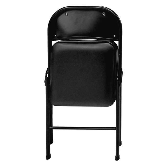 TGT8104PK Plastic Development Group Indoor Metal Padded Folding Party Chair (4 Pack) 5