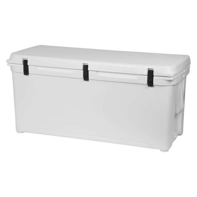 ENG165 Engel 165 High-Performance Roto-Molded Cooler, White 2
