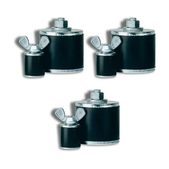 3 x 269948 Oatey Cherne 4-Inch Kwik N Sure Pipe Gripper Plug (3 Pack)