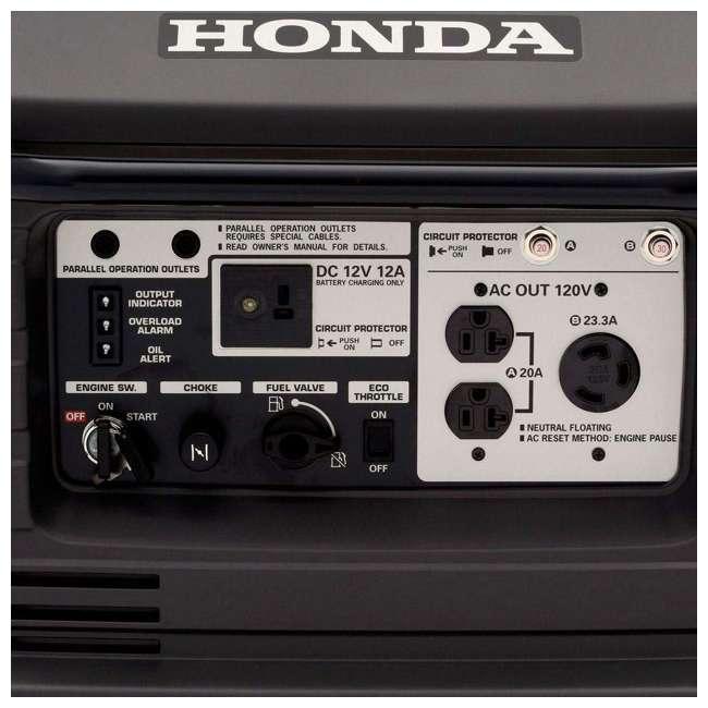 EU3000IS1A Honda EU3000IS1A 3000 Watt Portable Super Quiet Gas Powered Generator 2
