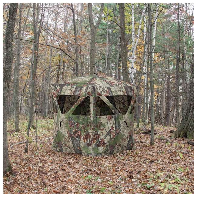 4 x BARR-RA200BW-RB Barronett Blinds Radar Backwoods Hunting Blind, 4 Pack (Certified Refurbished) 6