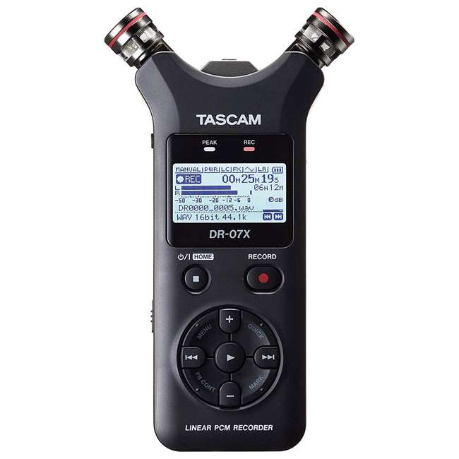 DR-07X + SD4-16GB-SAN Tascam DR-07X Stereo Handheld Digital Audio Recorder + 16GB SD Memory Card 2