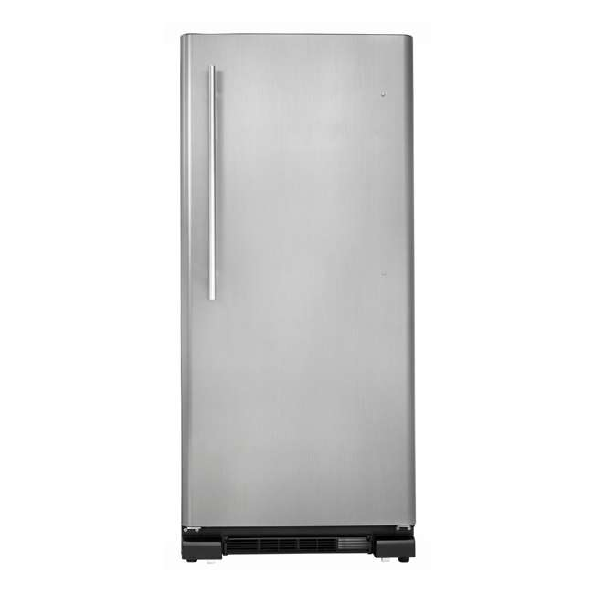 Danby Designer 17 Cubic Feet Apartment Size Refrigerator, Stainless ...