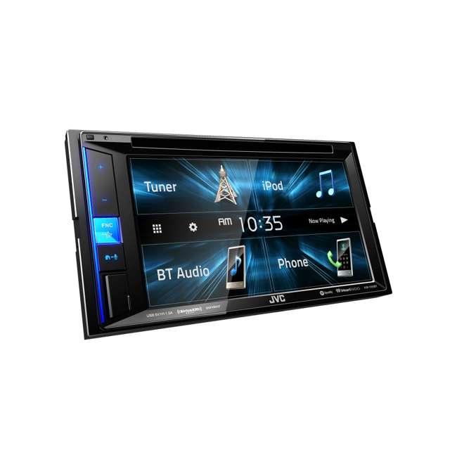 KW-V25BT JVC Mobile KW-V25BT 6.2 inch In-Dash Multimedia DVD Receiver  1