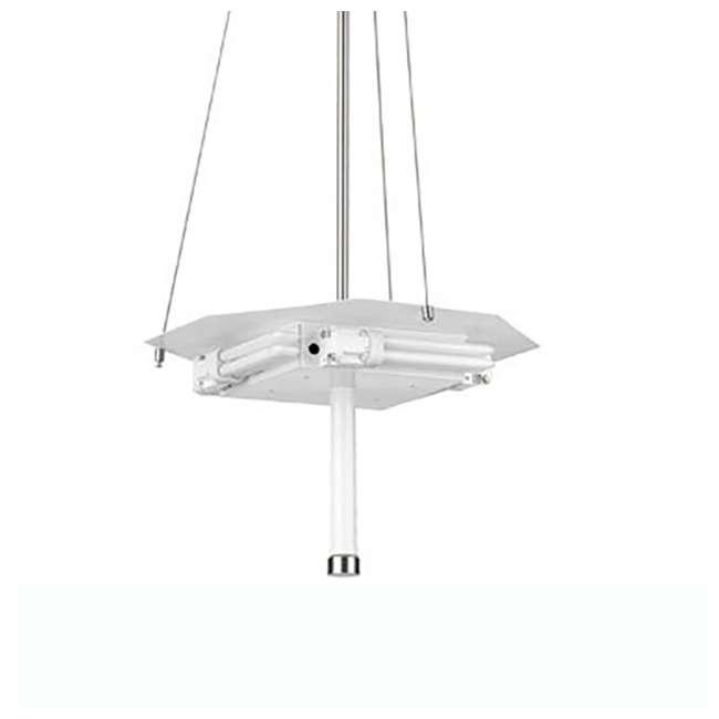 PLC-F43036U Philips Taylor 3 Light Pendant, Satin Nickel Finish  (2 Pack) 3