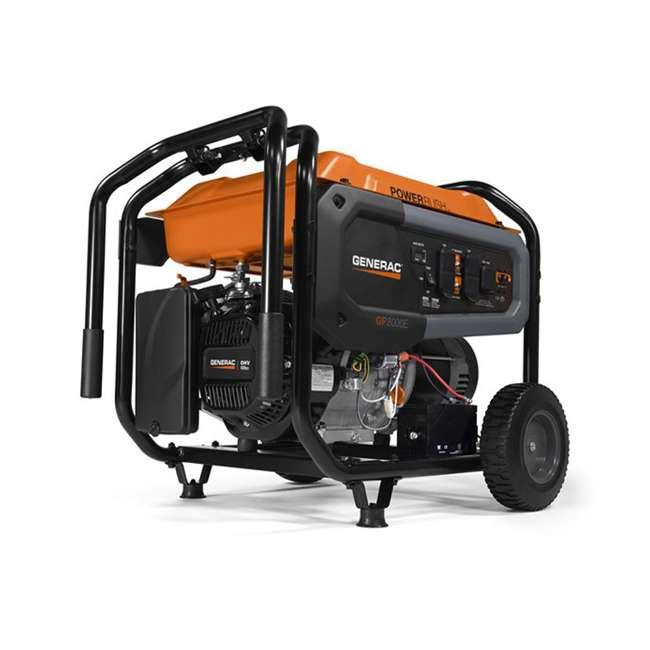 GNRC-7686 Generac GP8000E 8,000 Watt 420cc Electric Start Gas Powered Portable Generator