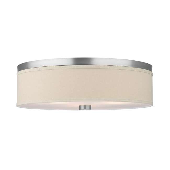 PLC-F131936U Philips Forecast Embarcadero 2-Light Ceiling Light, Satin Nickel (2 Pack) 1