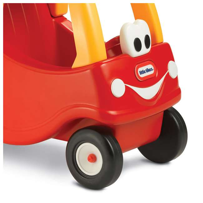 618338M Little Tikes Cozy Coupe Kids Grocery Shopping Cart, Red (2 Pack) 5
