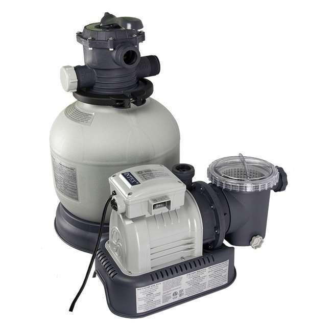 28647EG Intex 2800 GPH Above Ground Pool Sand Filter Pump 2