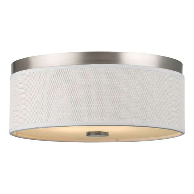 PLC-F615636UN Philips Forecast 120W Cassandra Ceiling Light, Satin Nickel (2 Pack) 1