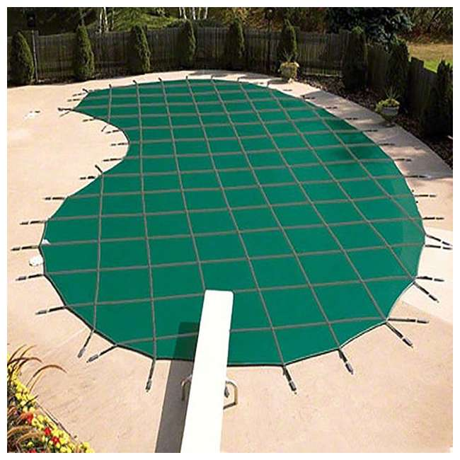 6 x DG183658S Yard Guard 18 x 36 Feet Pool Safety Cover, Green (6 Pack) 1