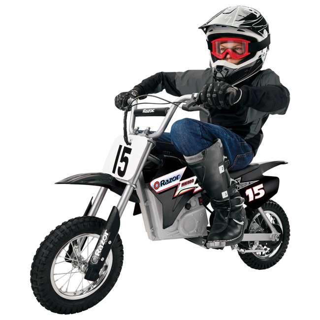 15128099 Razor MX400 Dirt Rocket Electric Motorcycle, Black 1