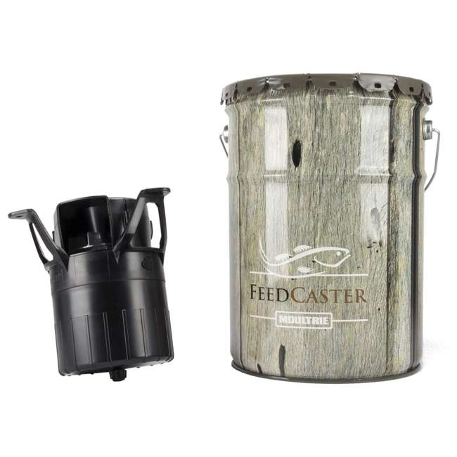 MFHP60057 Moultrie 6-Gallon Automatic Pond Fish Feeder 1