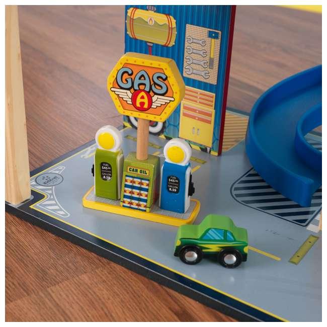 63267-U-A KidKraft Kids Mega Ramp Racing Set for Matchbox and Hotwheels Cars (Open Box) 7