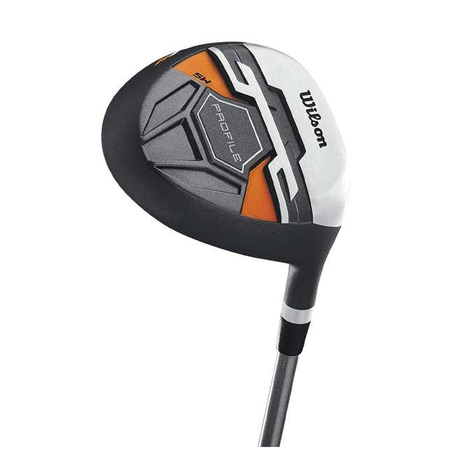 WGGC58300 Wilson Profile XD Teen Right Handed Golf Club Set, Orange 3