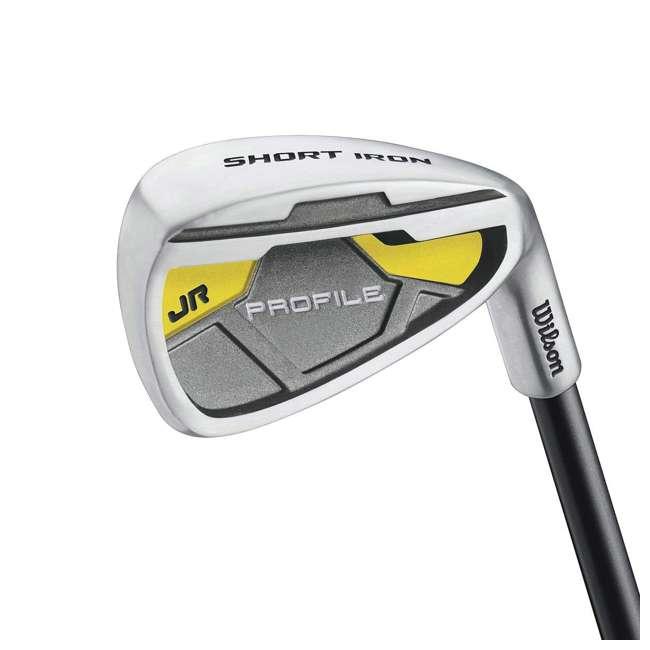 WGGC6122L Wilson Profile Complete Junior Left Hand Golf Set, Yellow 3