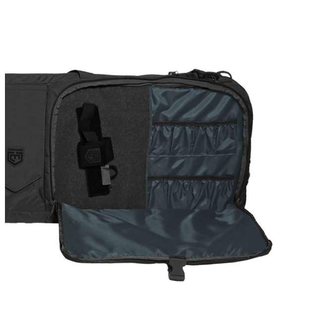 CPG-DB-TA3G-L-B Cannae Pro Gear The Triplex Acies 2 Long Gun and 2 Hand Gun Carry Bag, Black 1