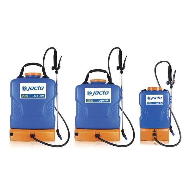JACTO-1230663 Jacto PJB-8 Battery-Powered 2-Gallon Backpack Sprayer 2