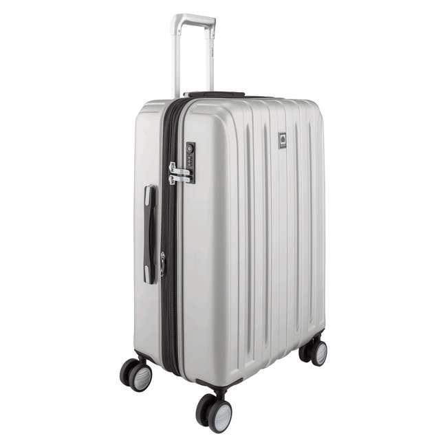 "00207182011 DELSEY Paris Titanium 25"" Expandable Checked Spinner Rolling Luggage Suitcase 1"