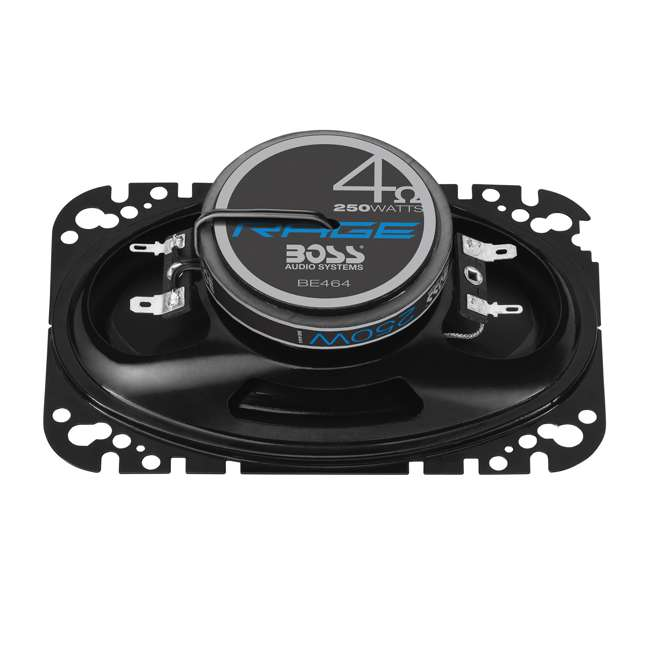 BE464 Boss Audio Rage 4 x 6-Inch 4-Way 250W Full Range Speakers (4 Pack) 4