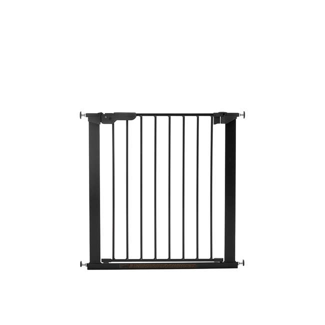 BBD-60116-5692 BabyDan Premier True Pressure Fit 28.9-36.7 Inch Doorway Safety Baby Gate, Black