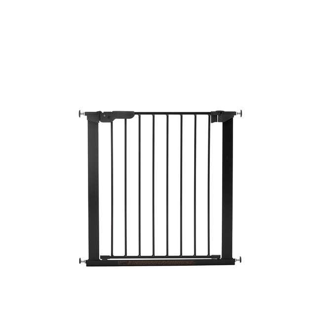 BBD-60116-5692 BabyDan Premier True Pressure Fit 28.9-36.7 Inch Doorway Safety Baby Gate, Black 1