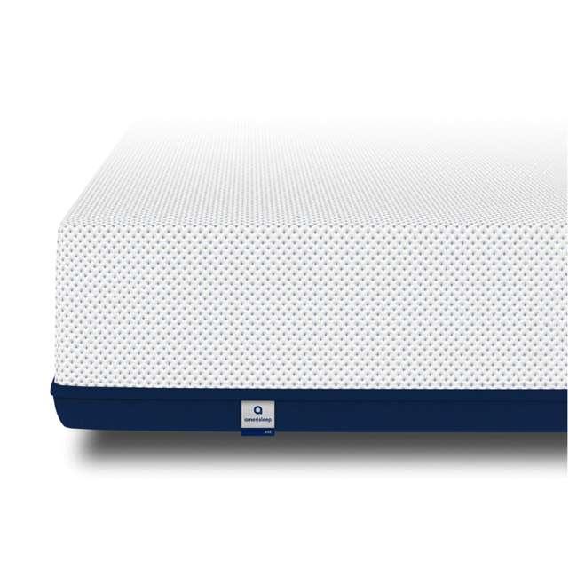 AS5-K Amerisleep AS5 Soft Feel Bio Core Plush Foam Active Flex King Mattress, White 2