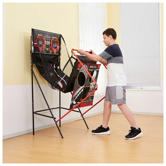BBG019_018P Lancaster 2-Player Electronic Arcade 3-in-1 Basketball, Football, Baseball Game 9