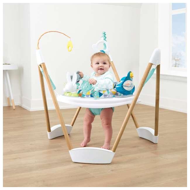 61912186 Evenflo 61912186 Exersaucer Woodland Wonder Baby Play Activity Center Jumper 2
