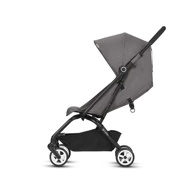 518001259  Cybex Eezy S Twist Travel System Baby and Toddler Stroller w/ Sun Canopy, Black 10
