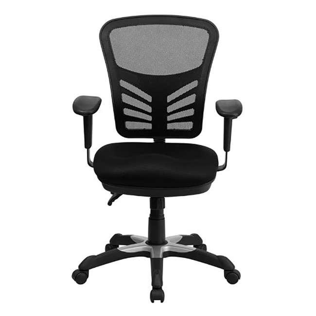 HL-0001-GG-U-A Flash Furniture Mesh Seat Executive Office Swivel Chair, Black (Open Box)