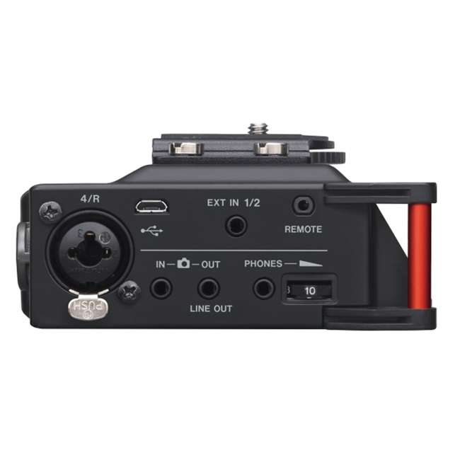 DR-70D + TH02-B Tascam 4-track PCM Recorder for DSLR Video Production + Home & Studio Headphones 4