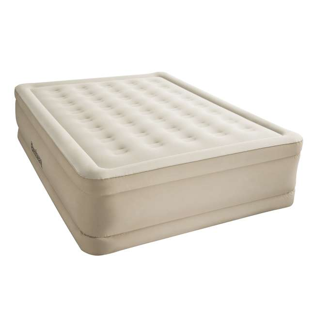 "69025E-BW-U-B Bestway Fortech 20"" Inflatable Queen Airbed Air Mattress w/ Built-In Pump (Used) 5"