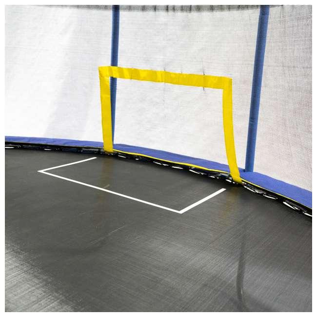 JK1015OVBHSG JumpKing JK1015OVBHSG 10 x 15 Foot Trampoline with Enclosure & Basketball Hoops 4
