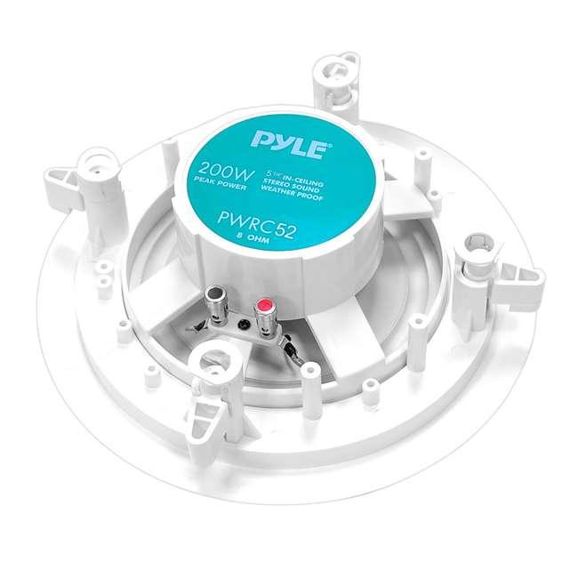 4 x PWRC52 Pyle 5.25-Inch 200-Watt Home In-Wall Stereo Speaker (4 Pack) 2