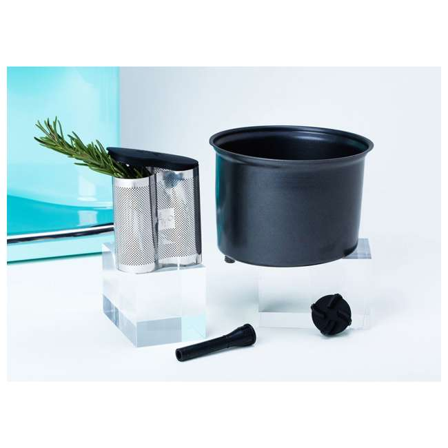 LEVO2-BLK LEVO II Herbal Oil Infusion Machine Botanical Activator and Herb Dryer, Black 3