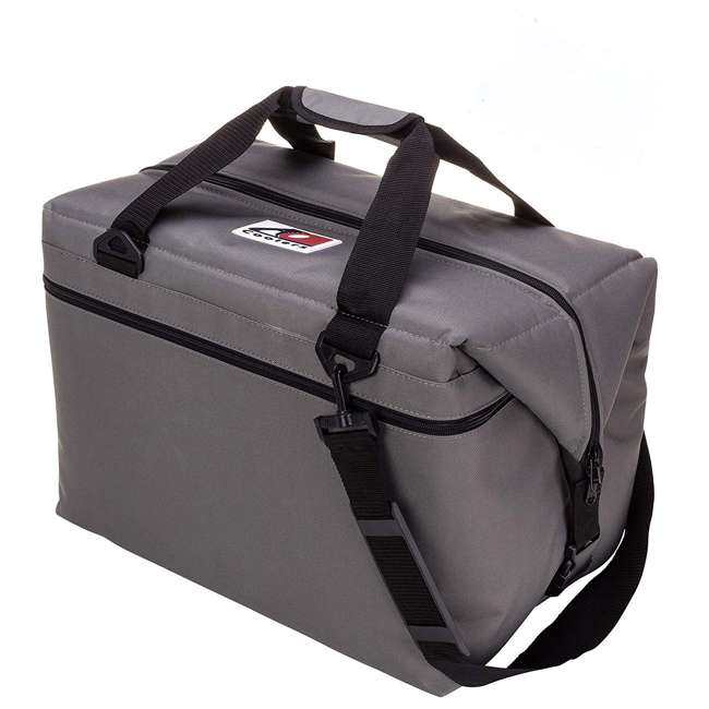 AO36CH AO Coolers Original 36 Can Soft Side Cooler w/ High Density Insulation, Charcoal