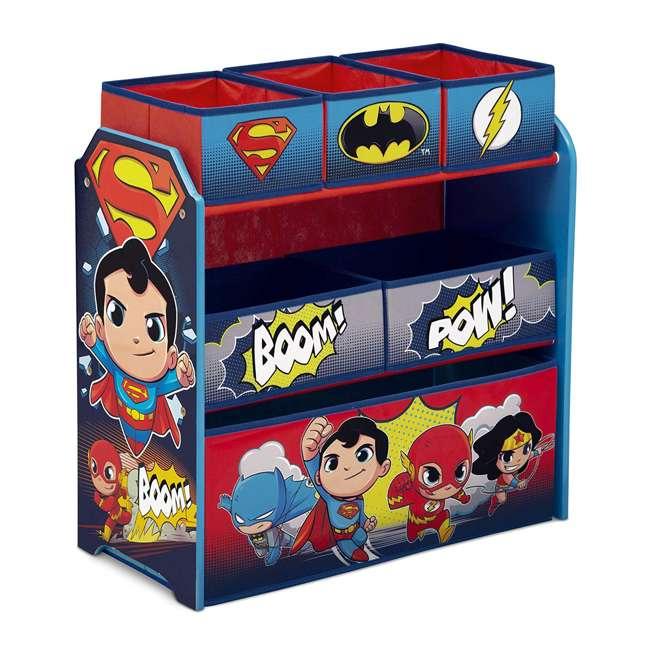 TB83438SP-1217 Delta Children DC Comics Super Friends Multi Toy Box Bin Wood Storage Organizer