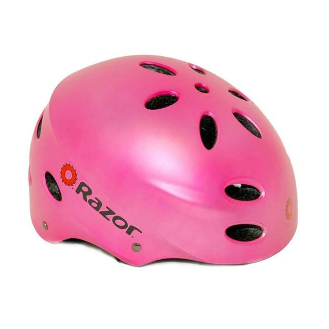 15130608 + 97783 Razor Pocket Mod Miniature Kids Toy Motor Scooter & Helmet 2